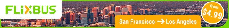 728x90 - San Francisco to Los Angeles